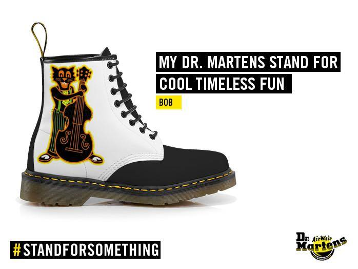 Dr Martens - Psychobilly Cat